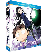 COFFRET BLU RAY ACCEL WORLD