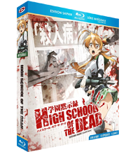 COFFRET DVD integrale : HIGHSCHOOL OF THE DEAD