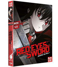 COFFRET DVD redeyes sword
