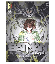 BATMAN and the justice league 02
